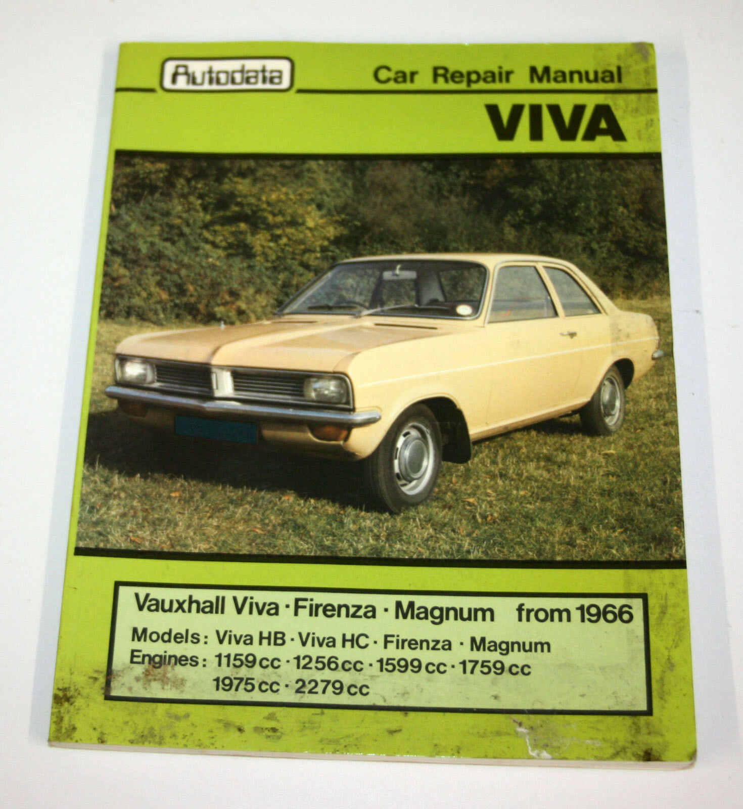 Autodata Workshop Manual 254 Vauxhall Viva Firenza Magnum From Wiring Diagram 1 Of 1only Available