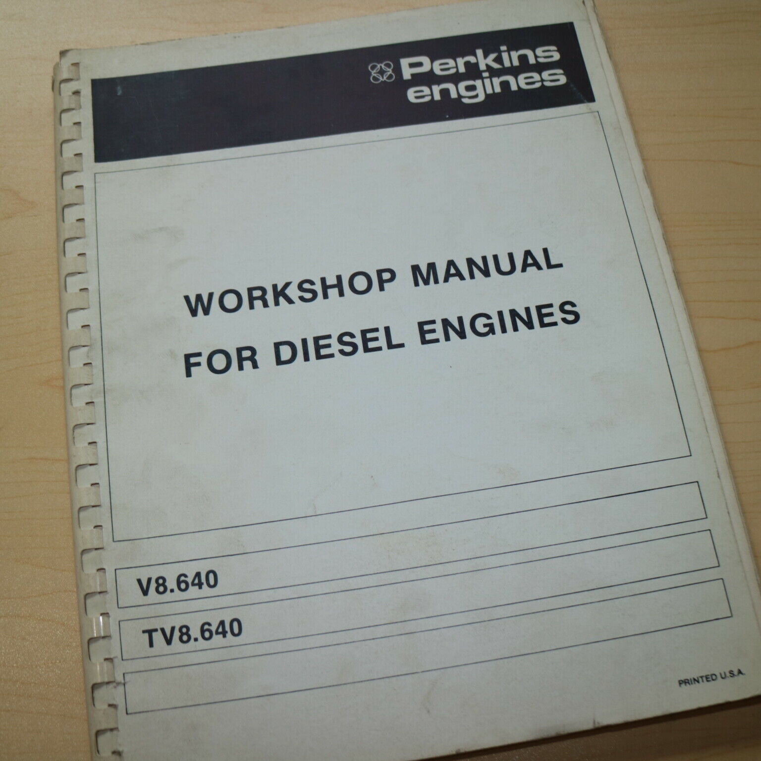 PERKINS 4.108 4.107 4.99 Diesel Engine Service Manual repair shop overhaul  book 1 of 7Only 2 available See More