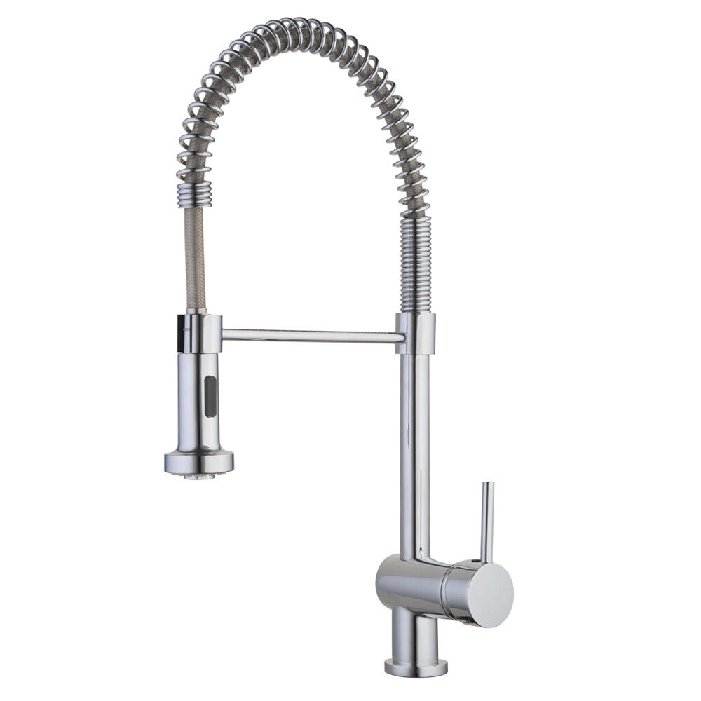 Modern kitchen sink mixer tap with flexible movable spring for Modern kitchen taps
