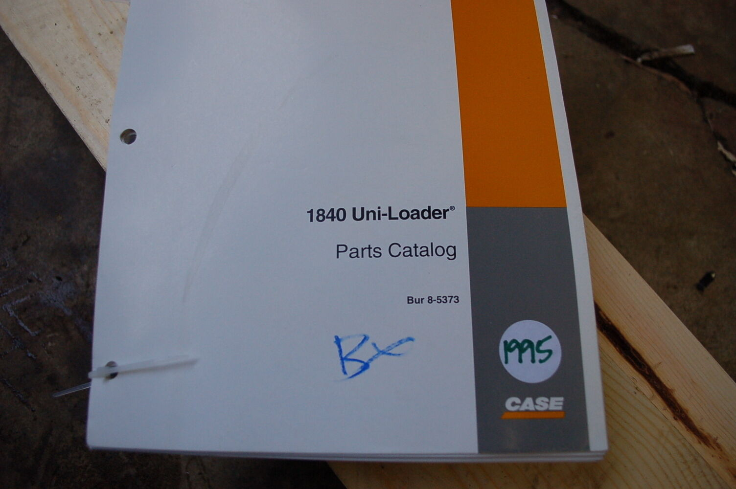 1 of 4Only 1 available CASE 1840 Uni Skid Steer Loader Parts Manual book  catalog list spare ...