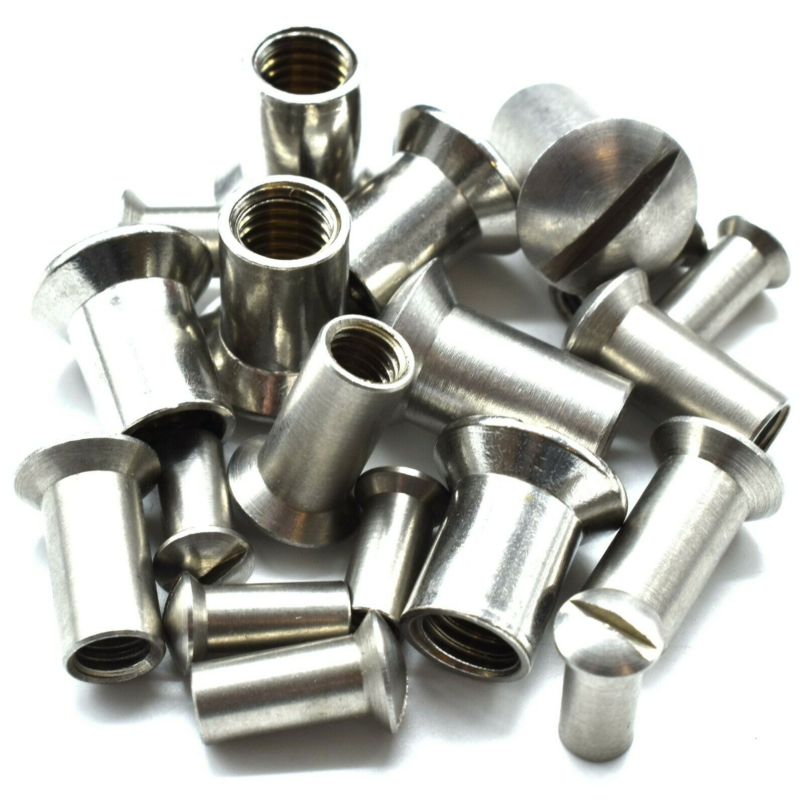 M4 M5 M6 & M8 x 15 A2 STAINLESS STEEL RAISED COUNTERSUNK ...