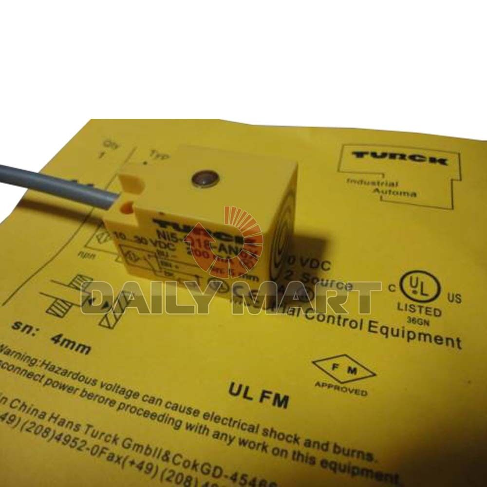 New Turck Ni5 Q18 An6x Proximity Switch Sensor 3 Wire 3800 Npn 3wire In This Case You Would Just Connect The Brown 1 Of 4only 5 Available