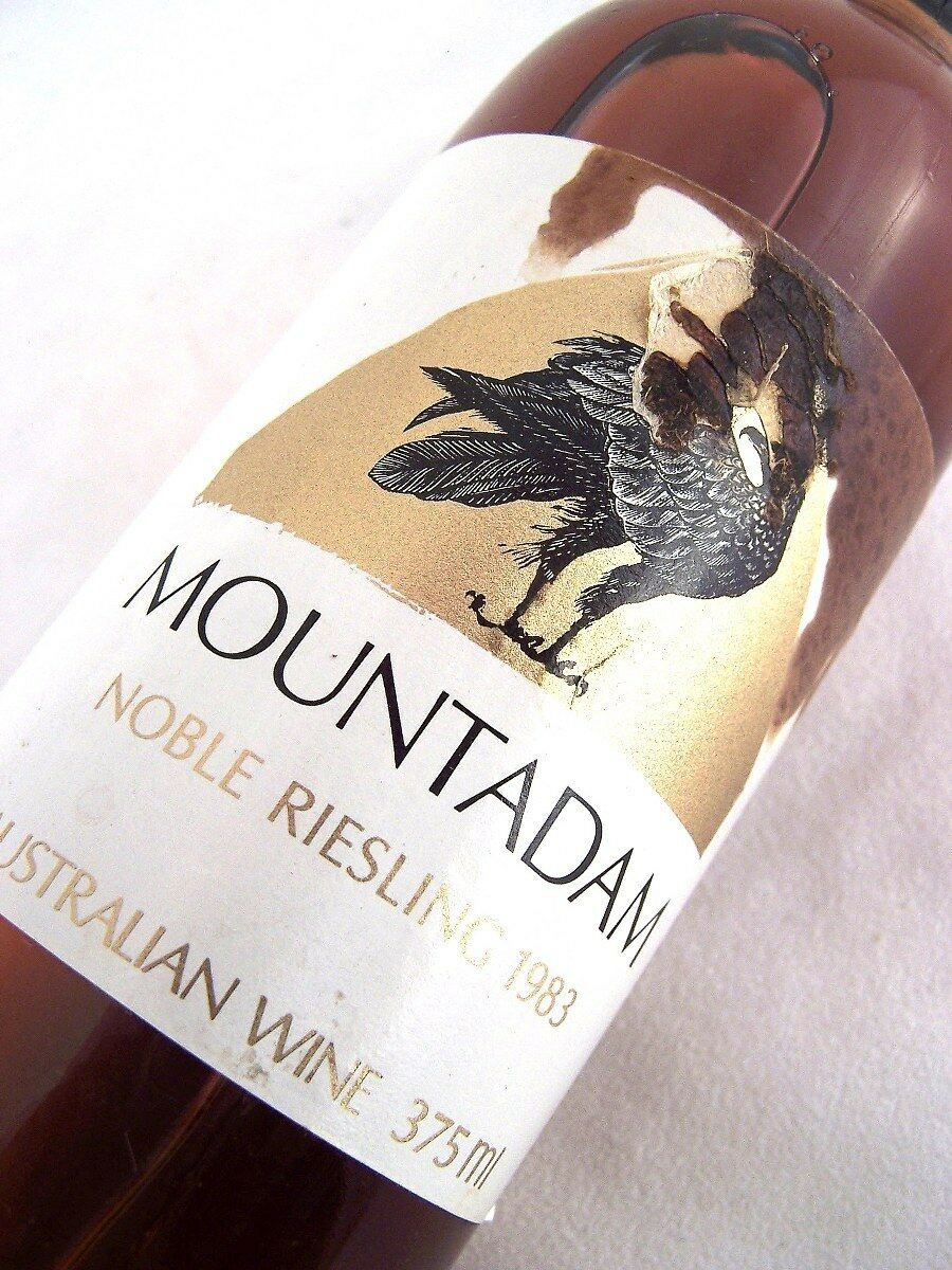 1983 Mountadam Noble Riesling 375ml Isle of Wine