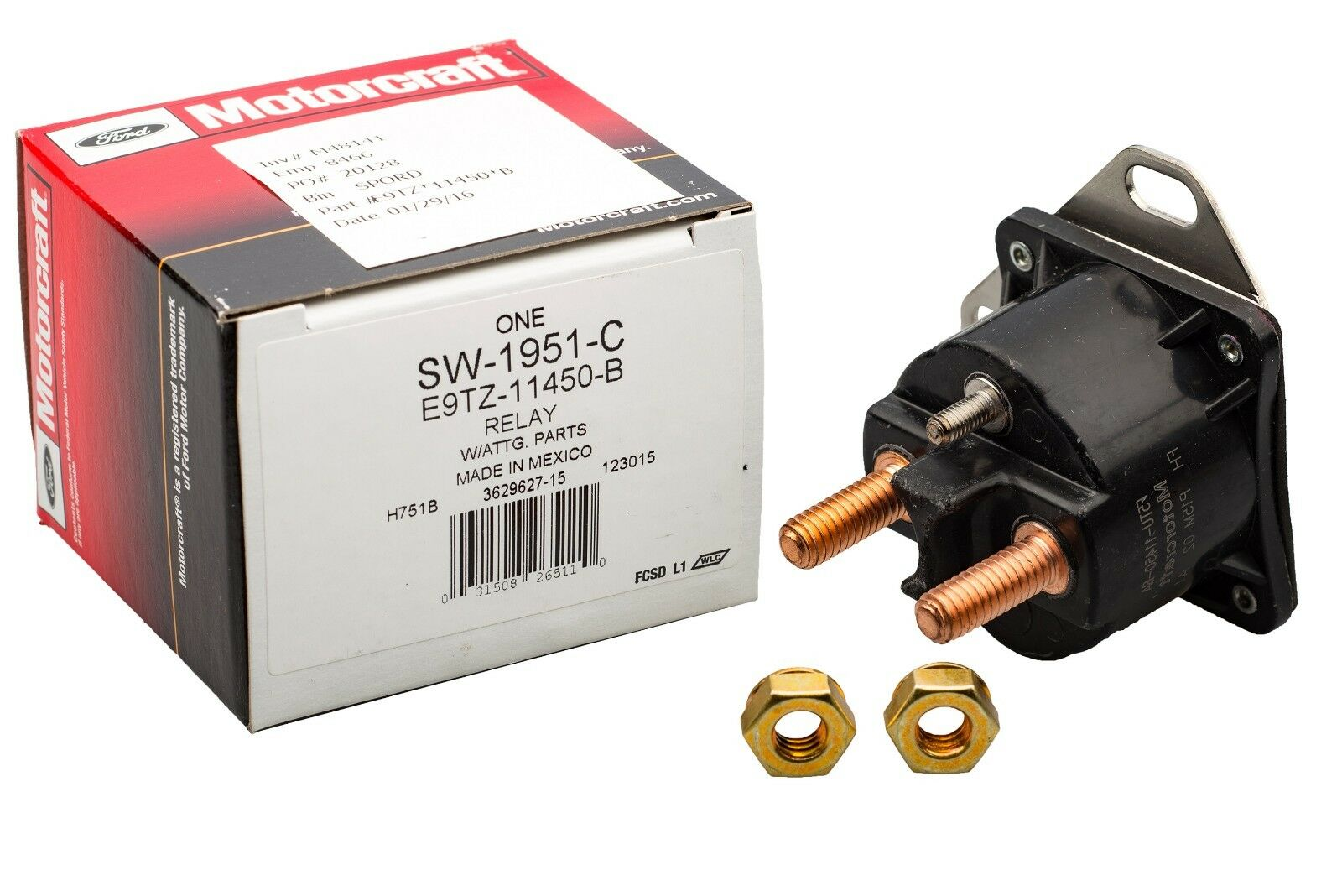 1995 Bmw 325i Starter Relay Location Ford Mustang Solenoid Switch Oem New 1600x1068
