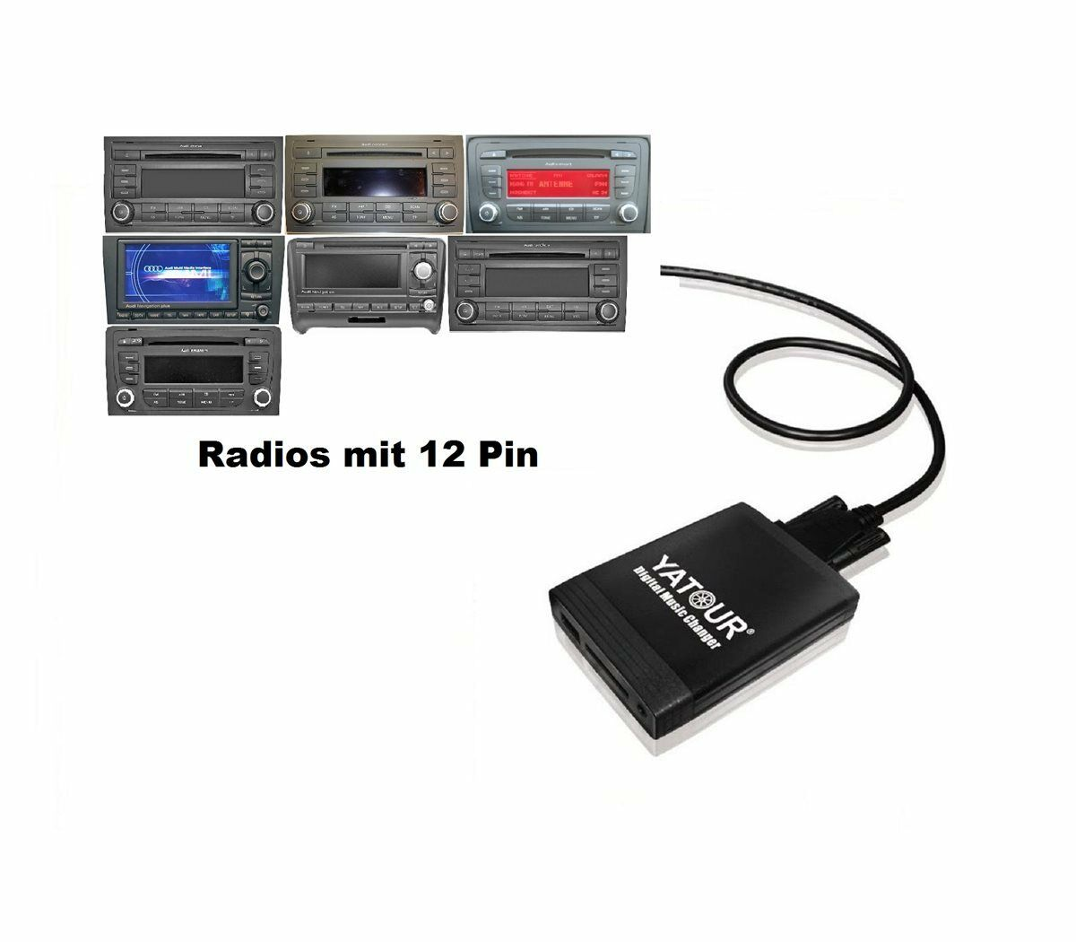 Usb Sd Aux In Adapter Mp3 Audi Cd Wechsler Mp3 Concert
