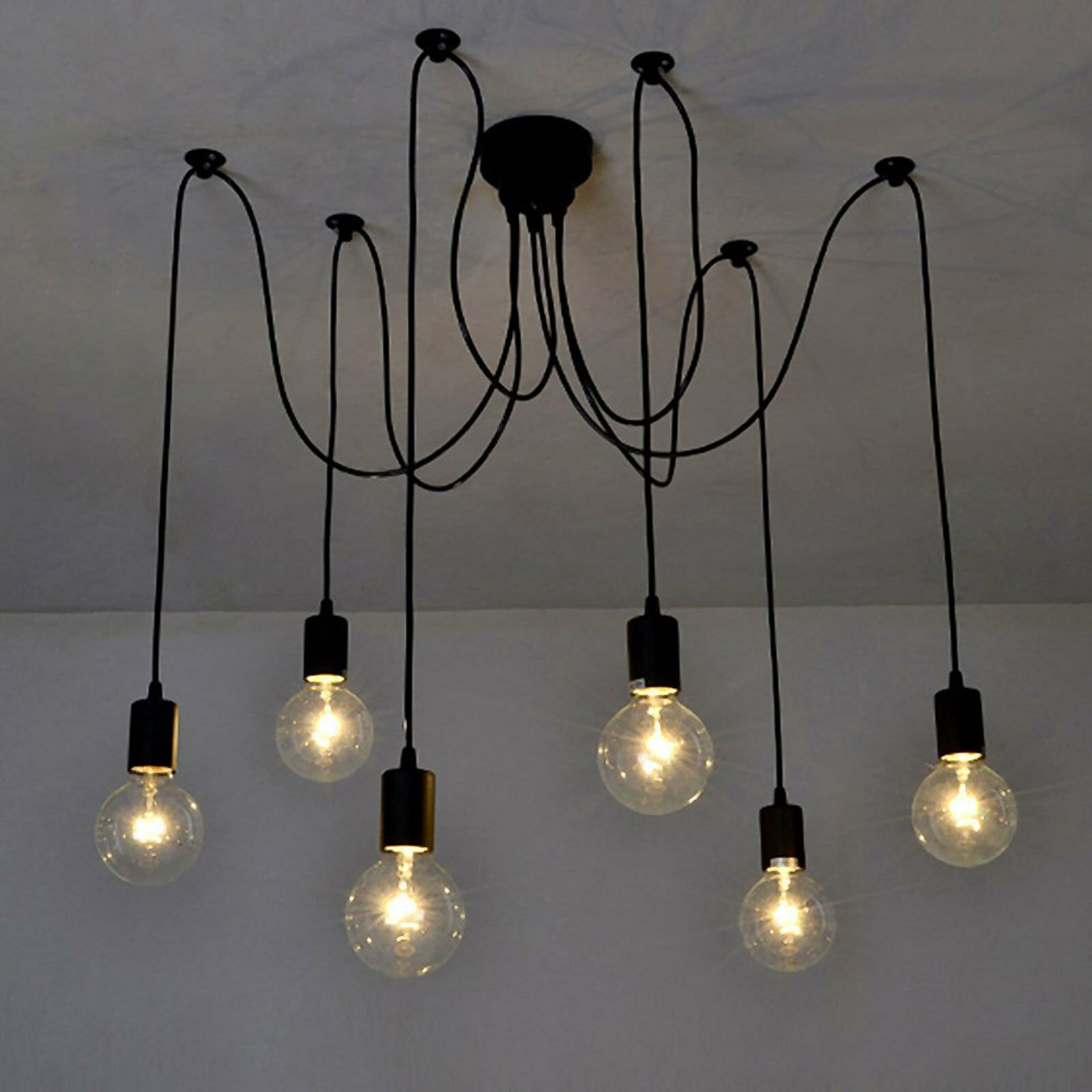 Modern Vintage Diy Chandelier Lights Ceiling Spider
