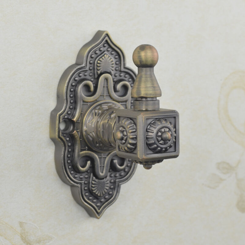 Vintage Classic Design Antique Bronze Metal Wall Decor Clothes Hat Key Coat Hook