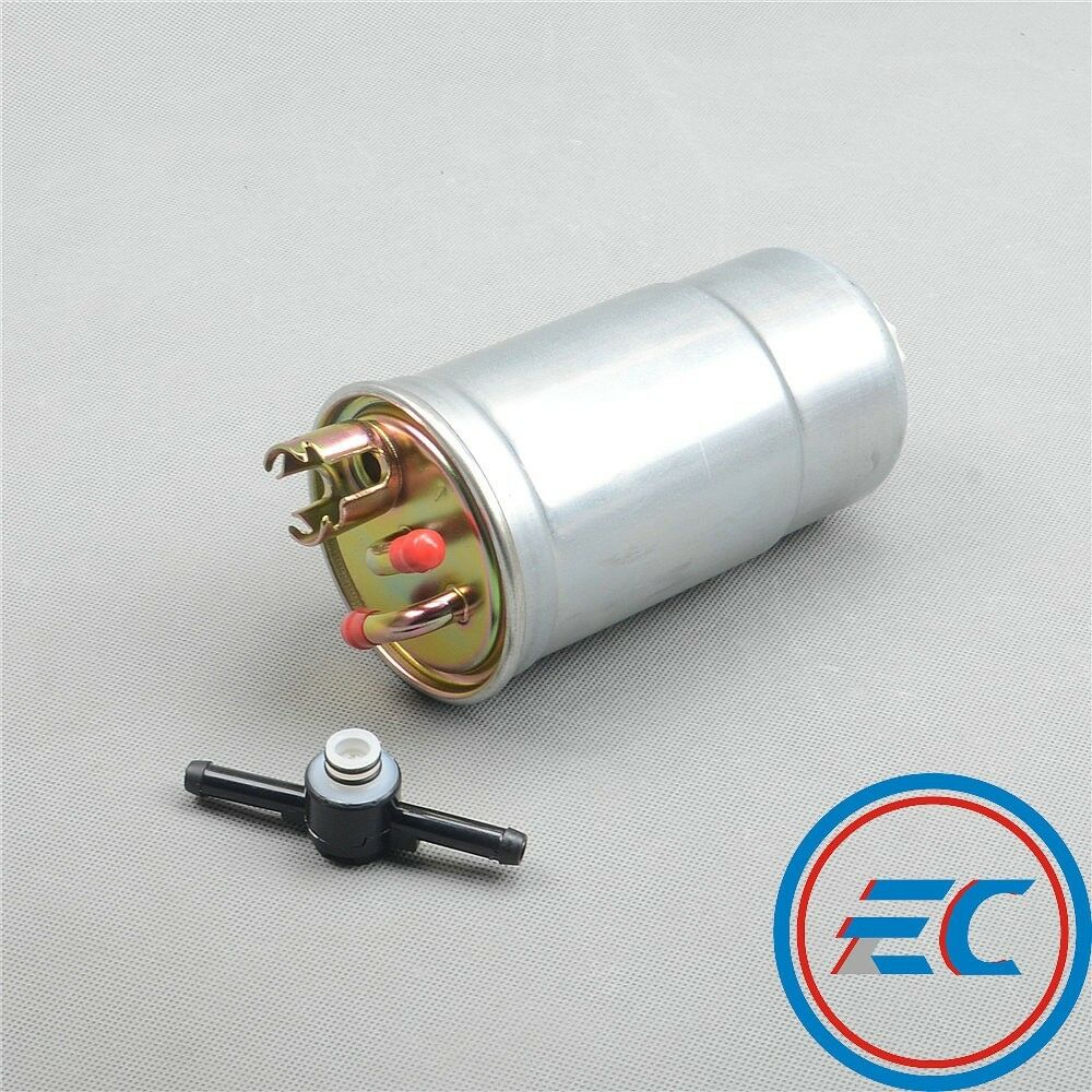 New Diesel Fuel Filter & Check Valve For VW Jetta Bora Golf MK4 Passat B5  1.9 1 of 4FREE Shipping ...