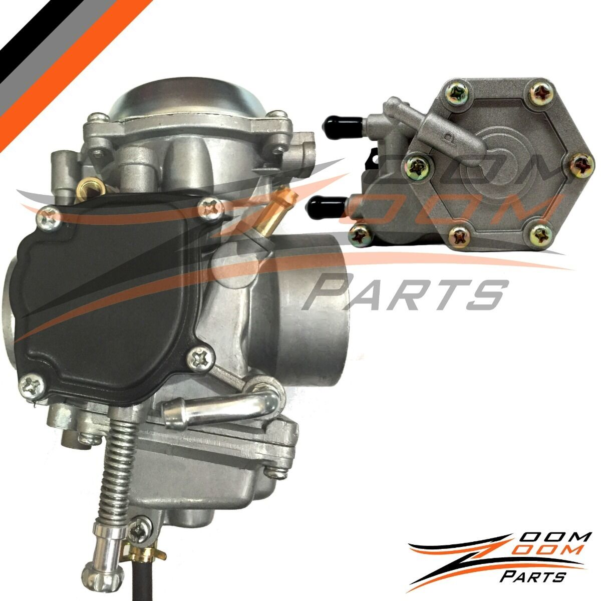 Polaris Sportsman 500 Carburetor Fuel Pump 4x4 Atv Quad Carb 2001 2004 Filter Non Ho 1 Of 6free Shipping