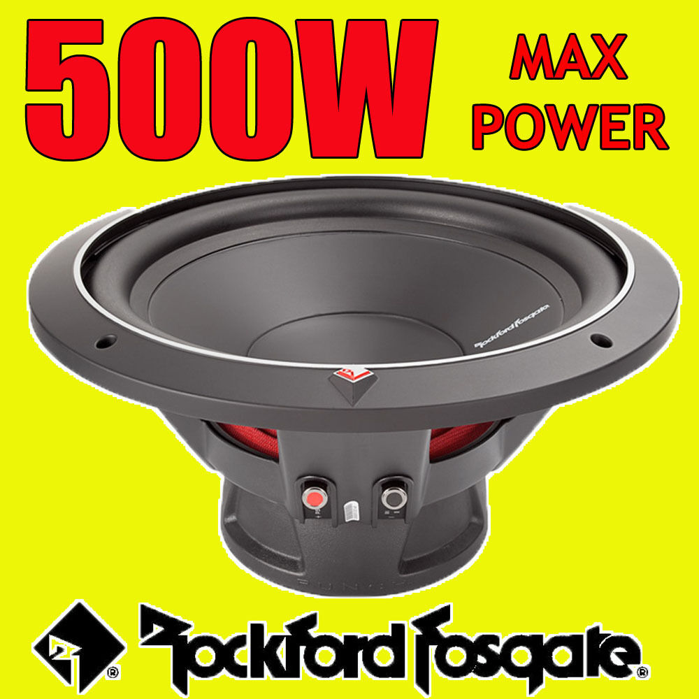 Rockford Fosgate 12 Inch 500w Car Audio Punch Bass Sub Subwoofer P1 1 Of 1only Available