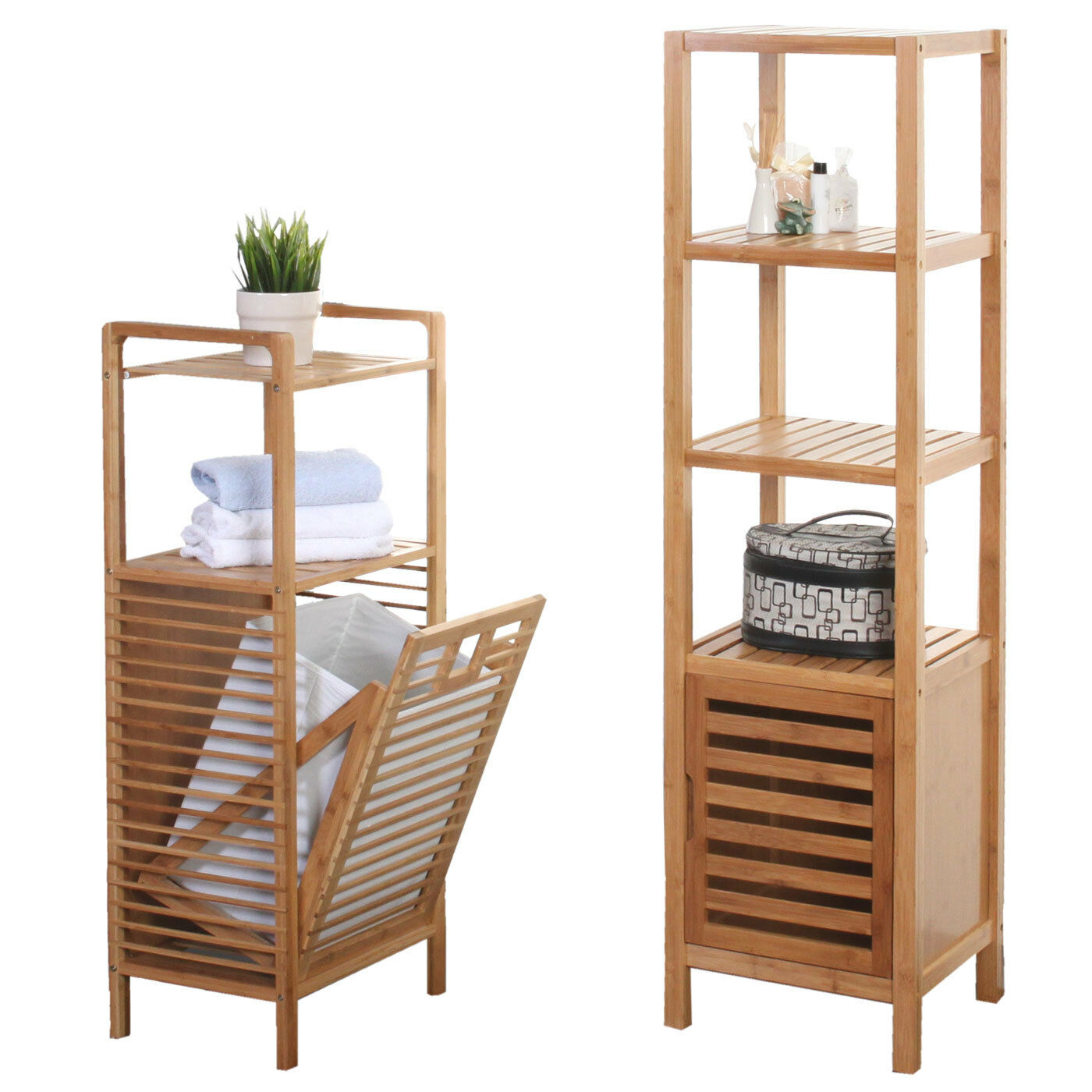 badezimmer set narita badschrank standregal w schekorb bambus eur 155 97 picclick de. Black Bedroom Furniture Sets. Home Design Ideas