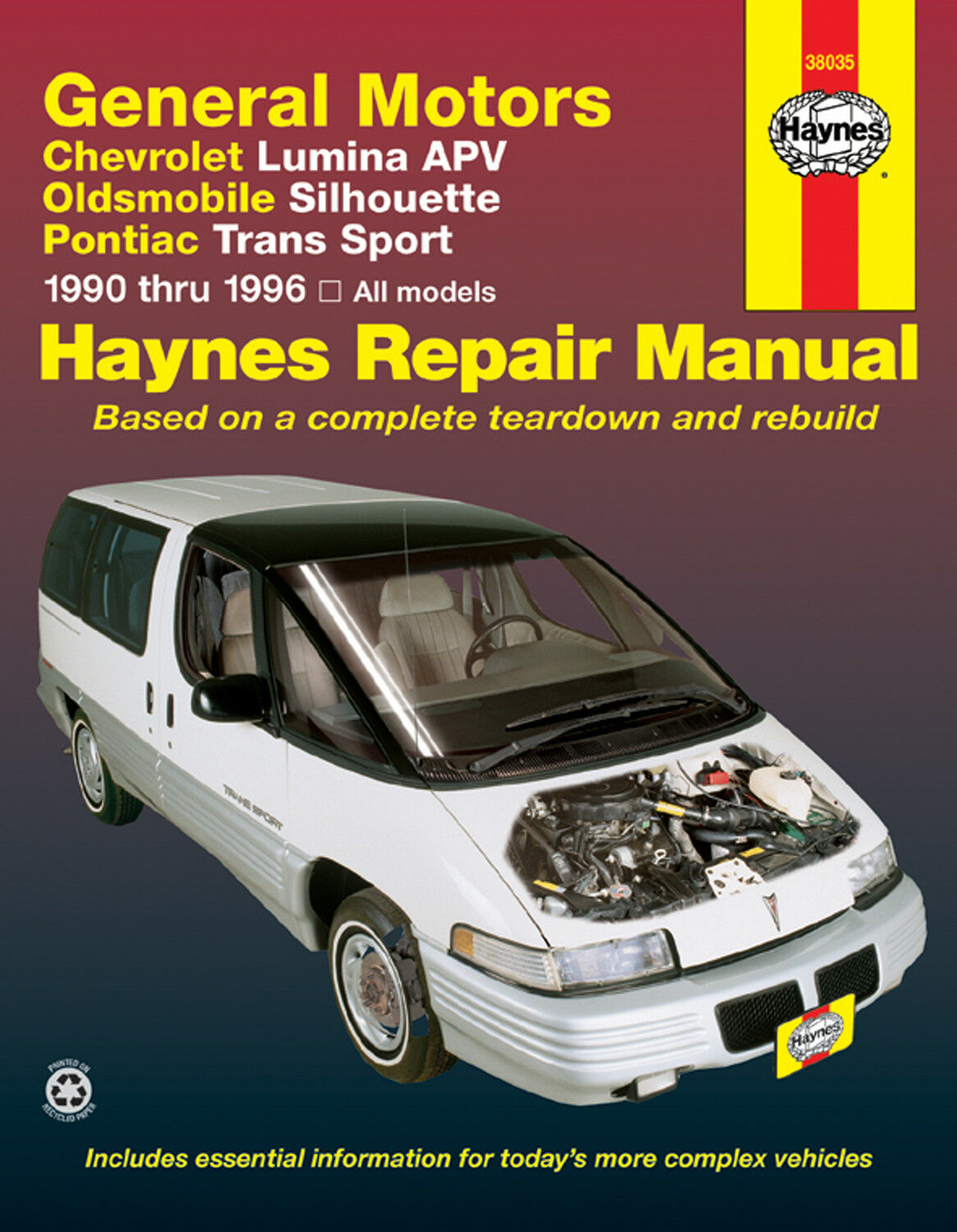 Haynes Publications 38035 Repair Manual 1 of 1Only 2 available ...