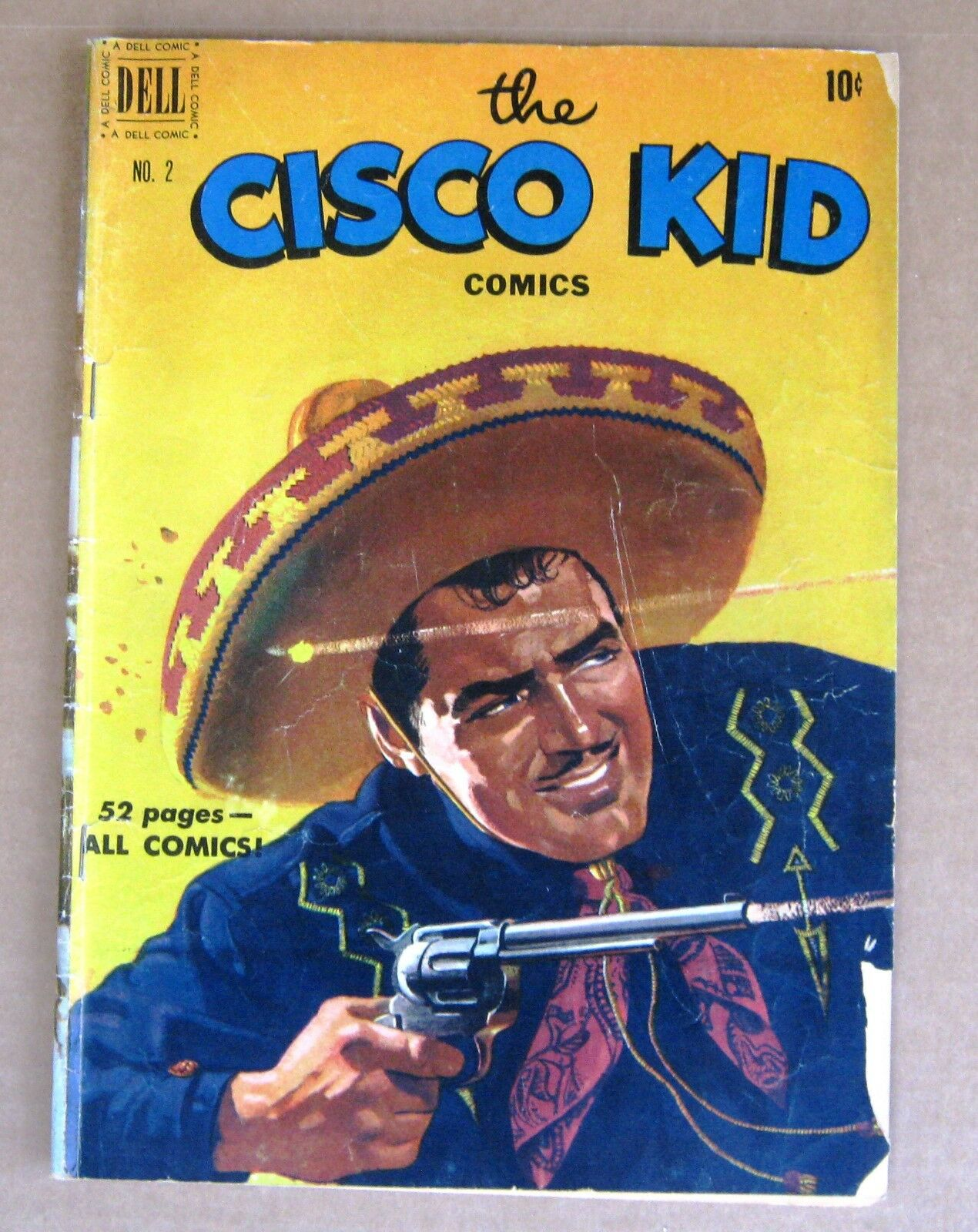 The Cisco Kid No 2 Jan 1951 Comic Book From Dell Est G 1 Of 3Only Available