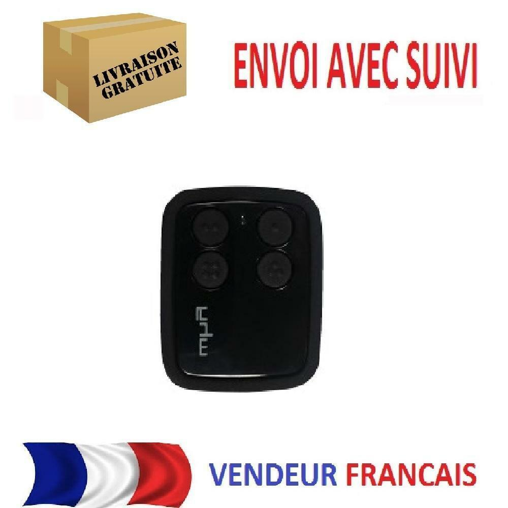 Telecommande universelle why evo 6 1 rolling code portail for Telecommande universelle de porte de garage