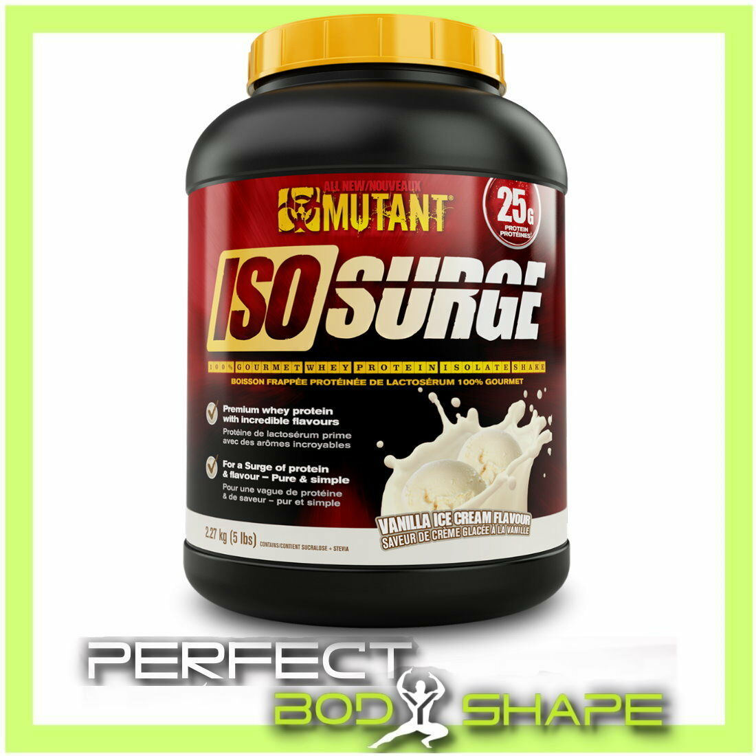 Mutant Iso Surge 100 Gourmet Whey Protein Isolate Wpi Wph Meal 90 500gr Replacement