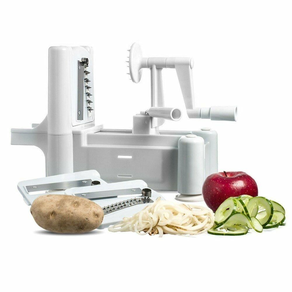 Spiralizer vegetable fruit spiral julienne shred twister - Appareil julienne legumes moulinex ...