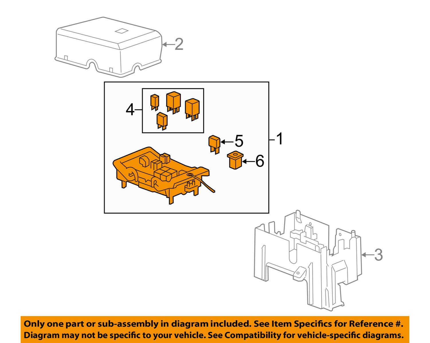 Gm Oem Fuse Relay Junction Block 22798214 15692 Picclick Diagram 1 Of 2only Available