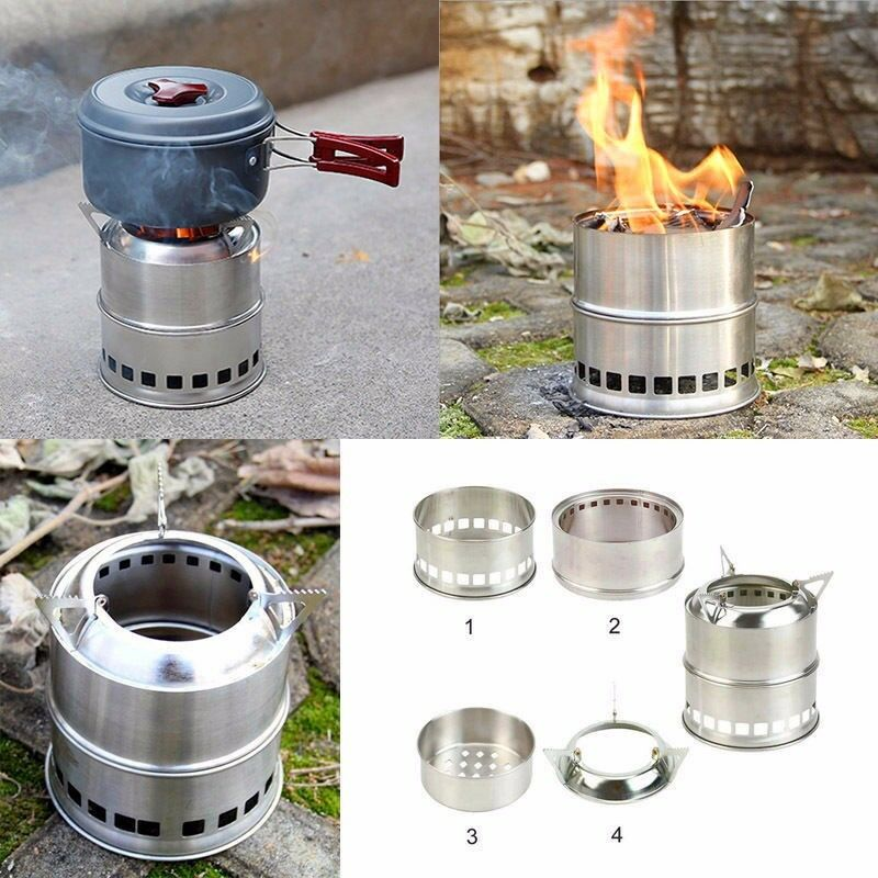 holz vergaser ofen kocher camping outdoor survival notkocher wood gas stove neu eur 9 91. Black Bedroom Furniture Sets. Home Design Ideas