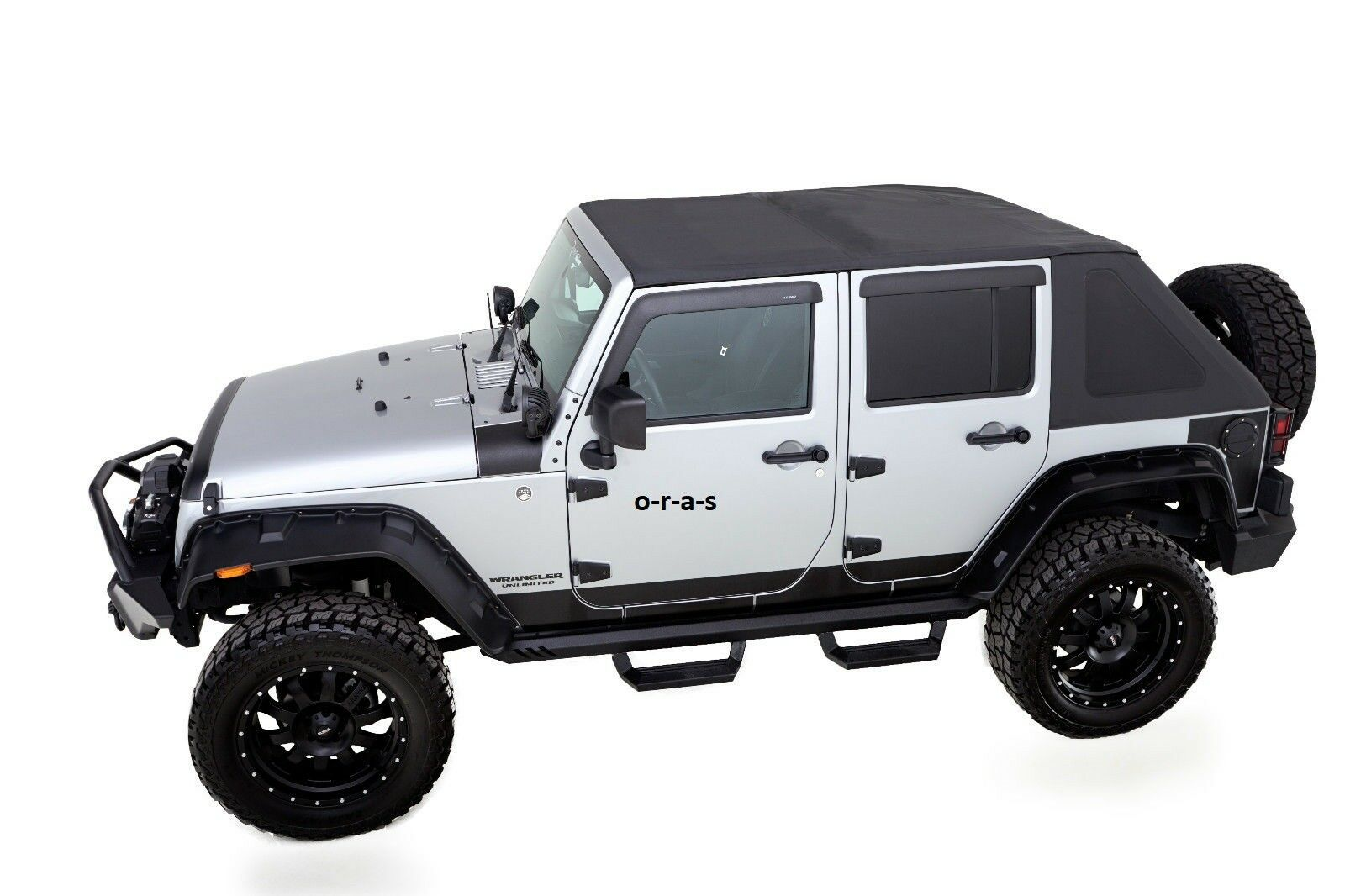 2007 2016 Jeep Wrangler Unlimited 4 Door Trailview Frameless Soft Top  W/Hardware 1 Of 6Only 1 Available See More