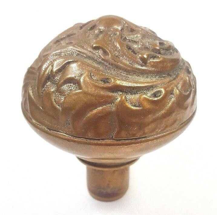 ~ Original Antique E134 Florence Entry Doorknob Corbin Bronze Door Knob Hardware