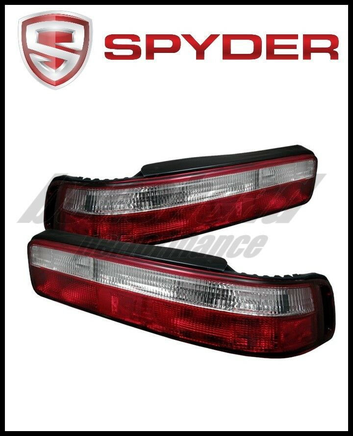 SPYDER ACURA INTEGRA Dr Euro Style Tail Lights Red Clear - 90 93 acura integra for sale