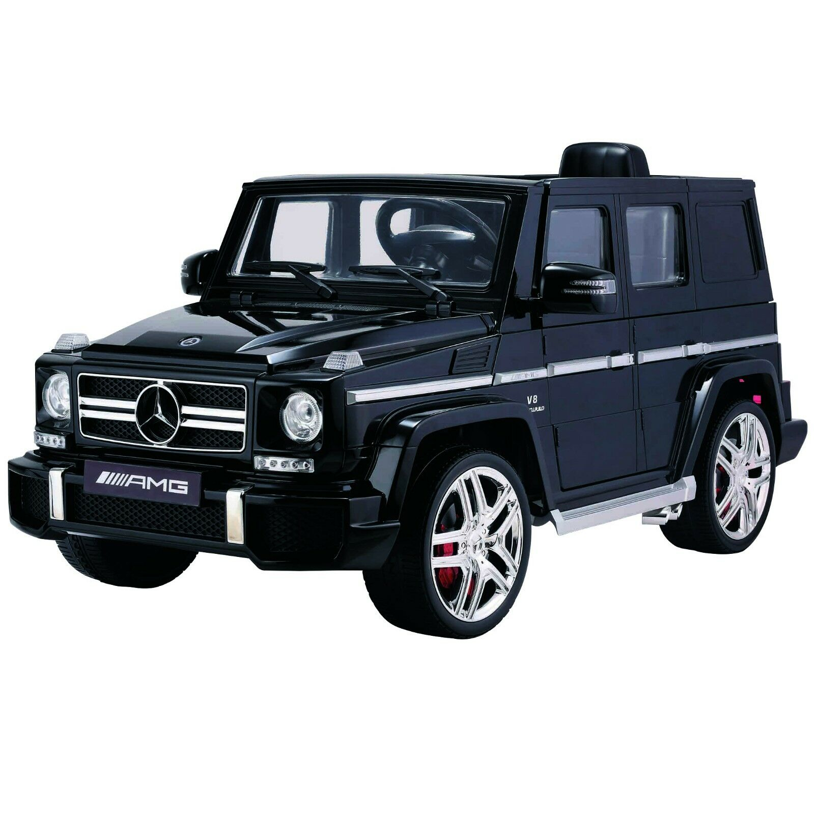 Black licensed mercedes benz kids electric ride on car toy for Mercedes benz kids