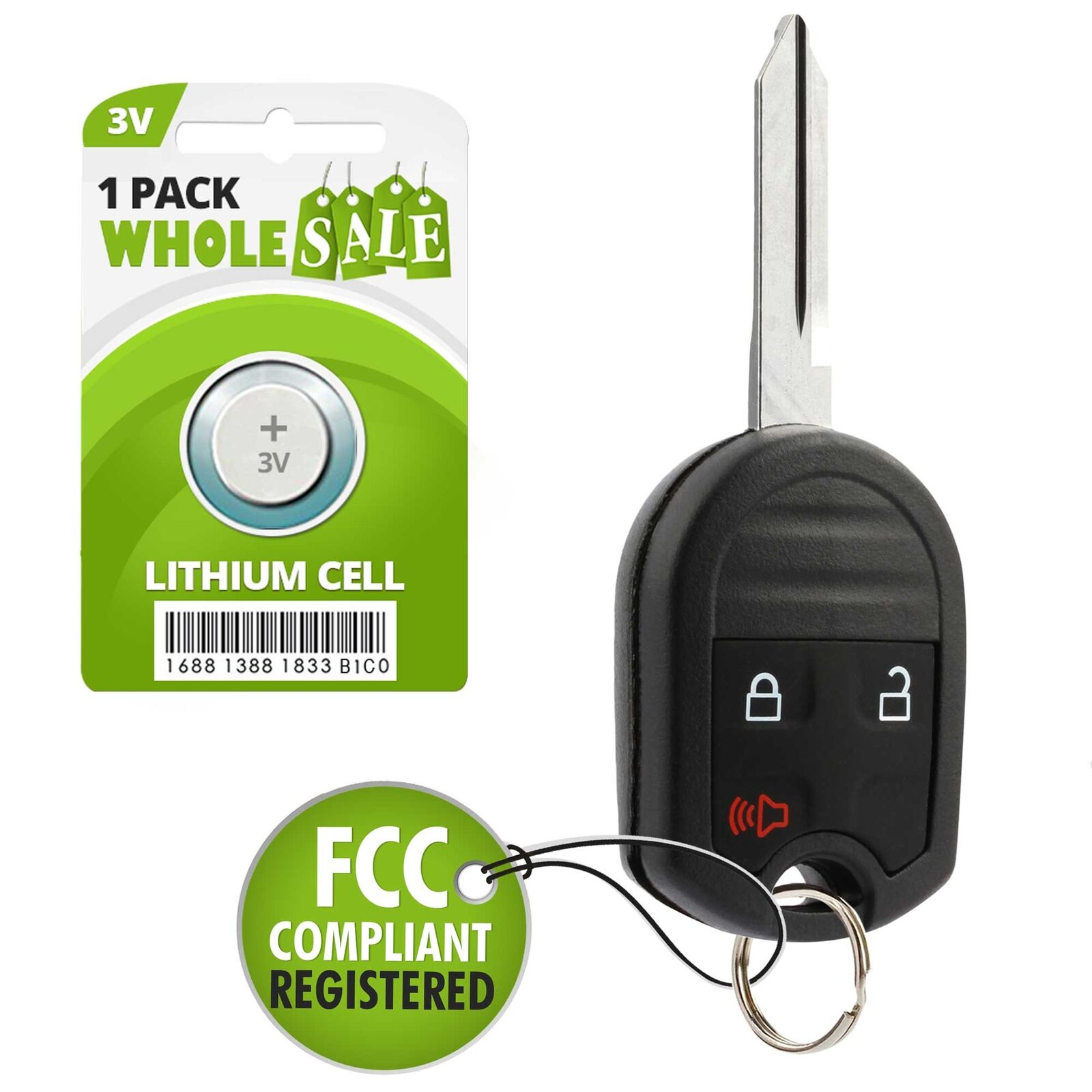Replacement For    Ford Edge Key Fob Remote Free Shipping See More