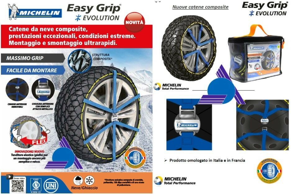 easy grip michelin michelin easy grip composite snow tire chains for michelin easy grip 4x4. Black Bedroom Furniture Sets. Home Design Ideas