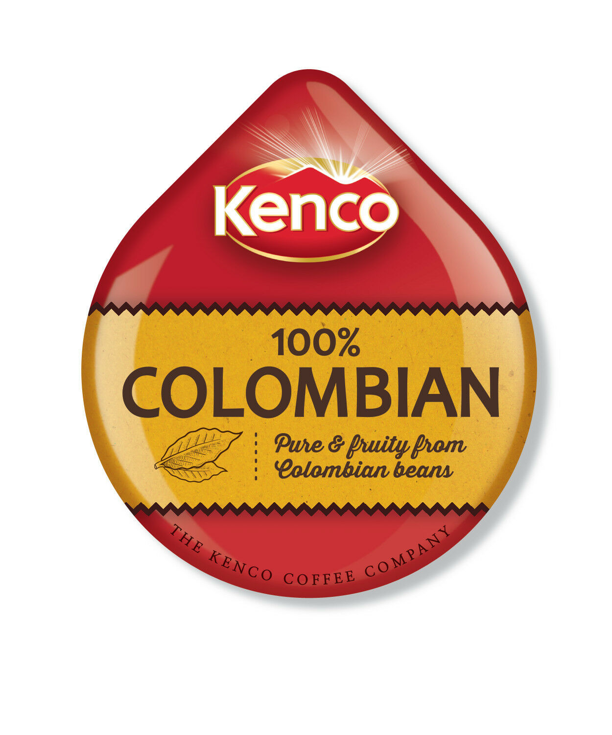 24 x Tassimo Kenco Colombian Coffee T-disc (Sold Loose)