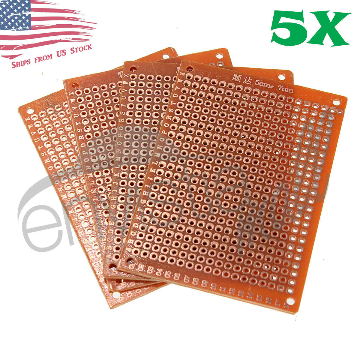 5pcs 5cm X 7cm Pcb Prototyping Perf Boards Breadboards Diy Us Details About 12 Pcs Kit Printed Circuit Breadboard