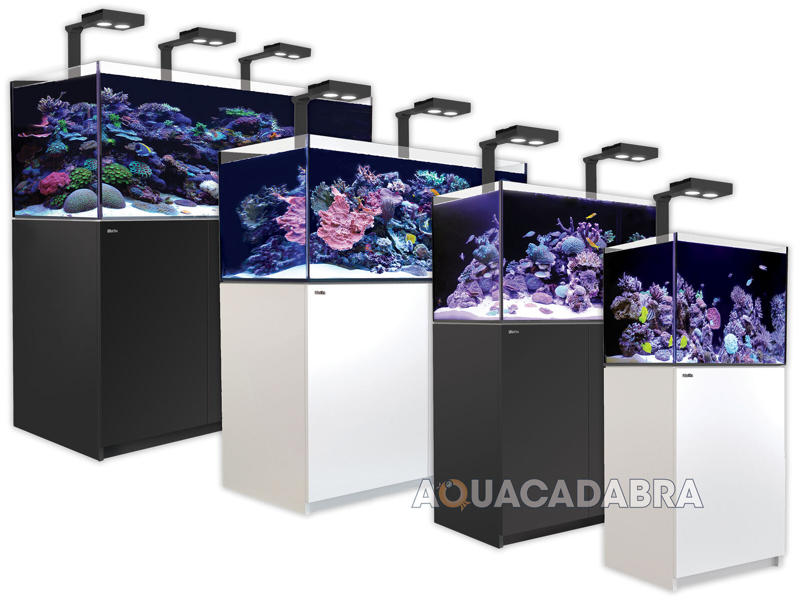 Red Sea Reefer Deluxe Marine Aquarium Complete Systems Led Sump Tank & Cabinet