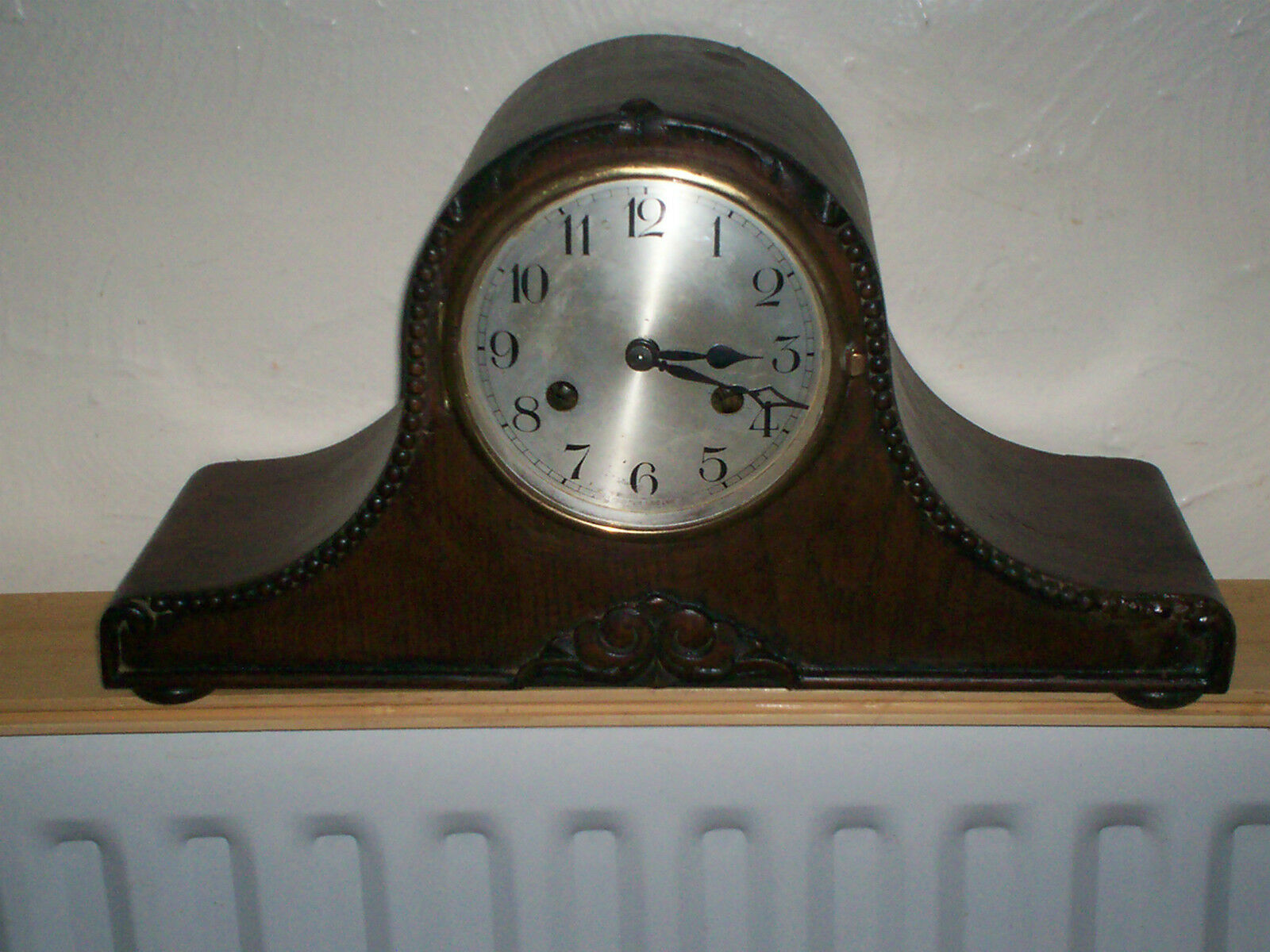 Kienzle Ornate Art Deco Striking Mantle Clock