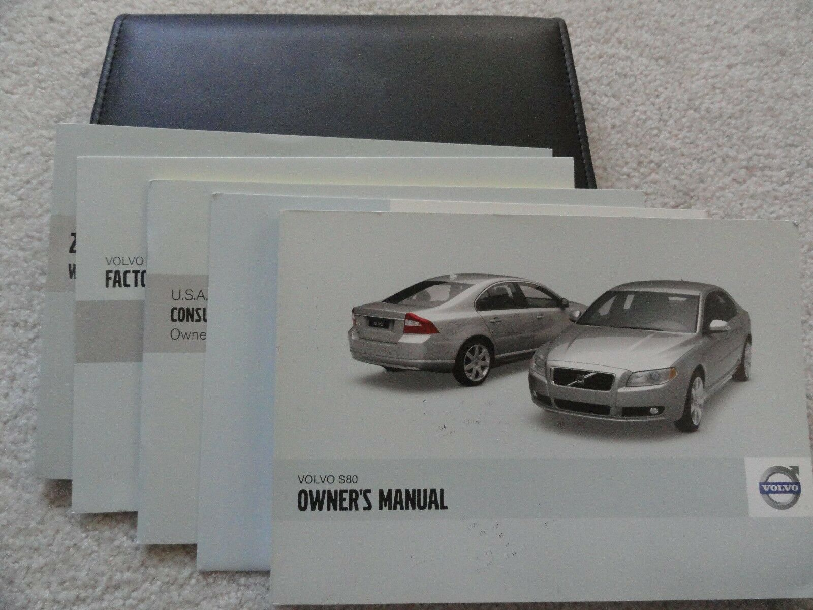 2009 Volvo S80 Owners Manual 1 of 1Only 1 available ...