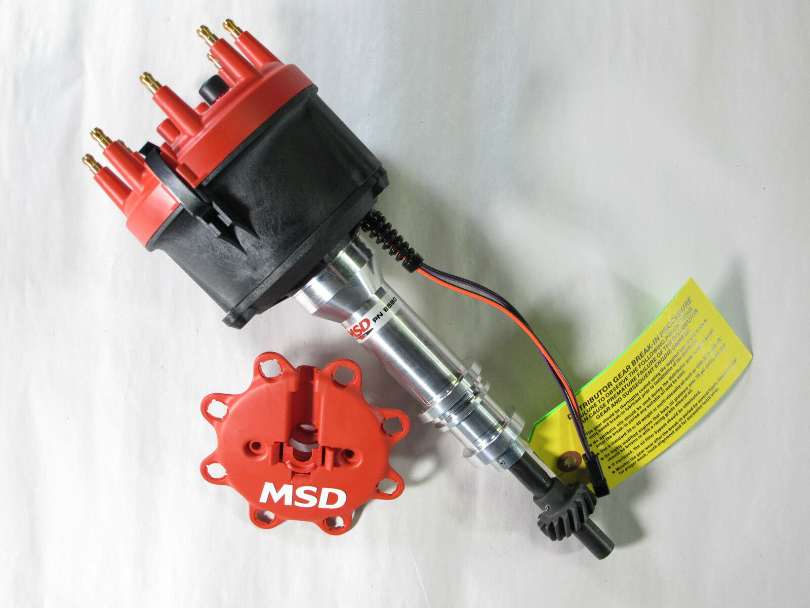 MSD 8580 Distributor Billet Magnetic Trigger Ford 351C 351M 400 429 460 1  of 2Only 2 available ...