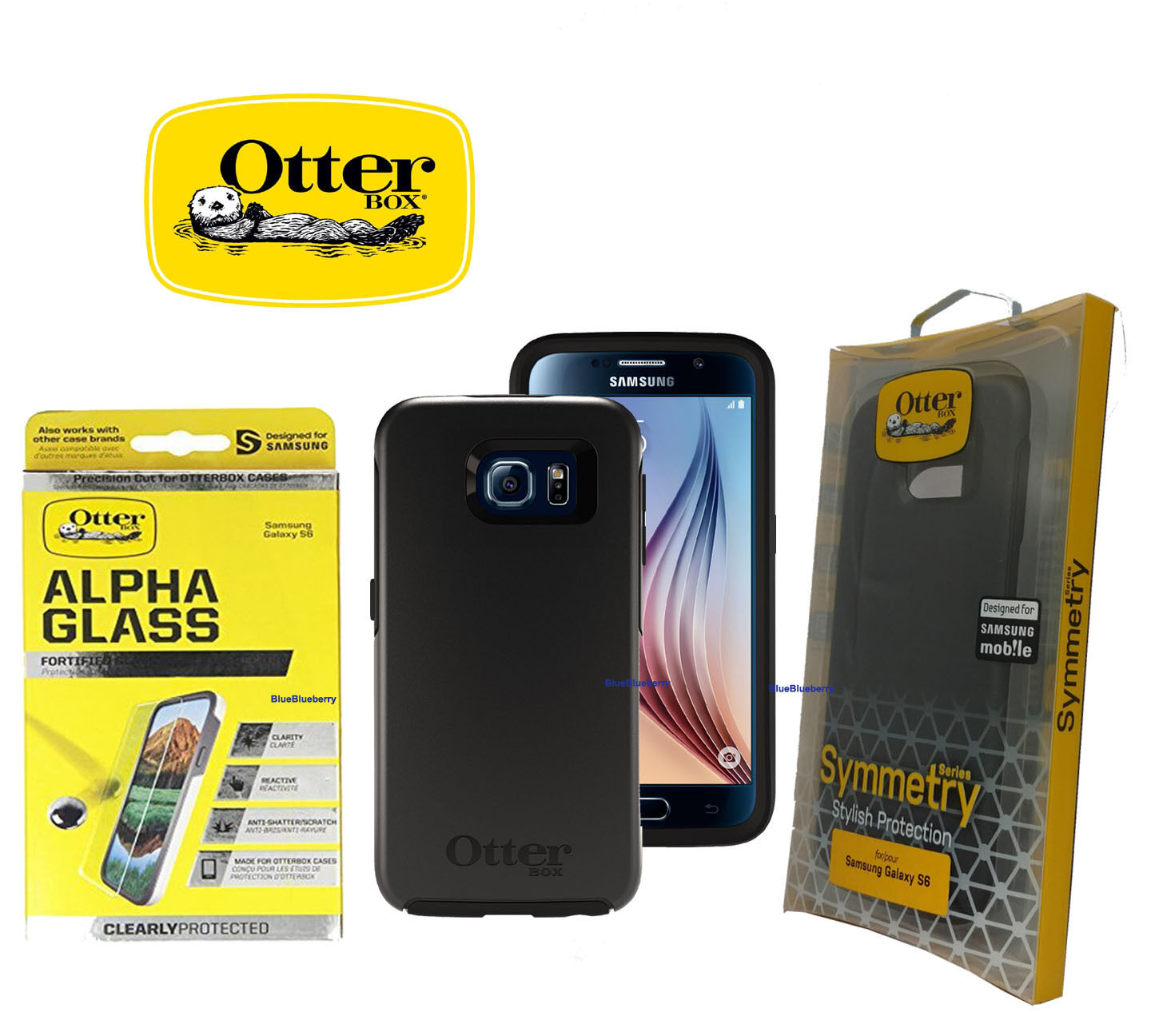 Otterbox Case For Samsung Galaxy S6 Symmetry Series New Free