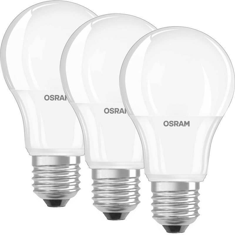 osram led basic classic 3er set 10 5 w led lampen e27 warmwei eur 10 45 picclick de. Black Bedroom Furniture Sets. Home Design Ideas