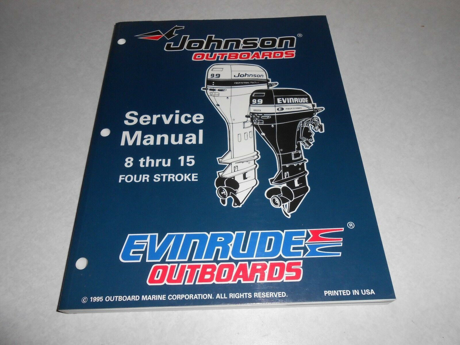 1996 8, 9.9, 15 hp JOHNSON EVINRUDE Outboard Repair & Service Manual 4- 1  of 2Only 1 available See More
