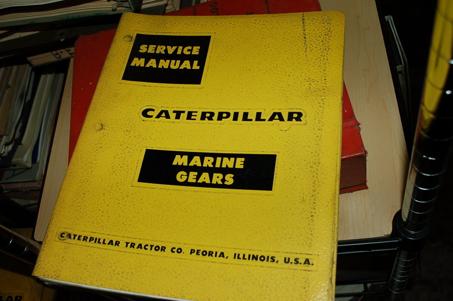 CAT Caterpillar TWIN DISC MG-506 Marine Gear Engine Service Repair Shop  Manual 1 of 6Only 2 available CAT ...