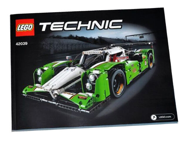 New Instructions Only Lego 24 Hour Race Car 42039 Manaul Book From