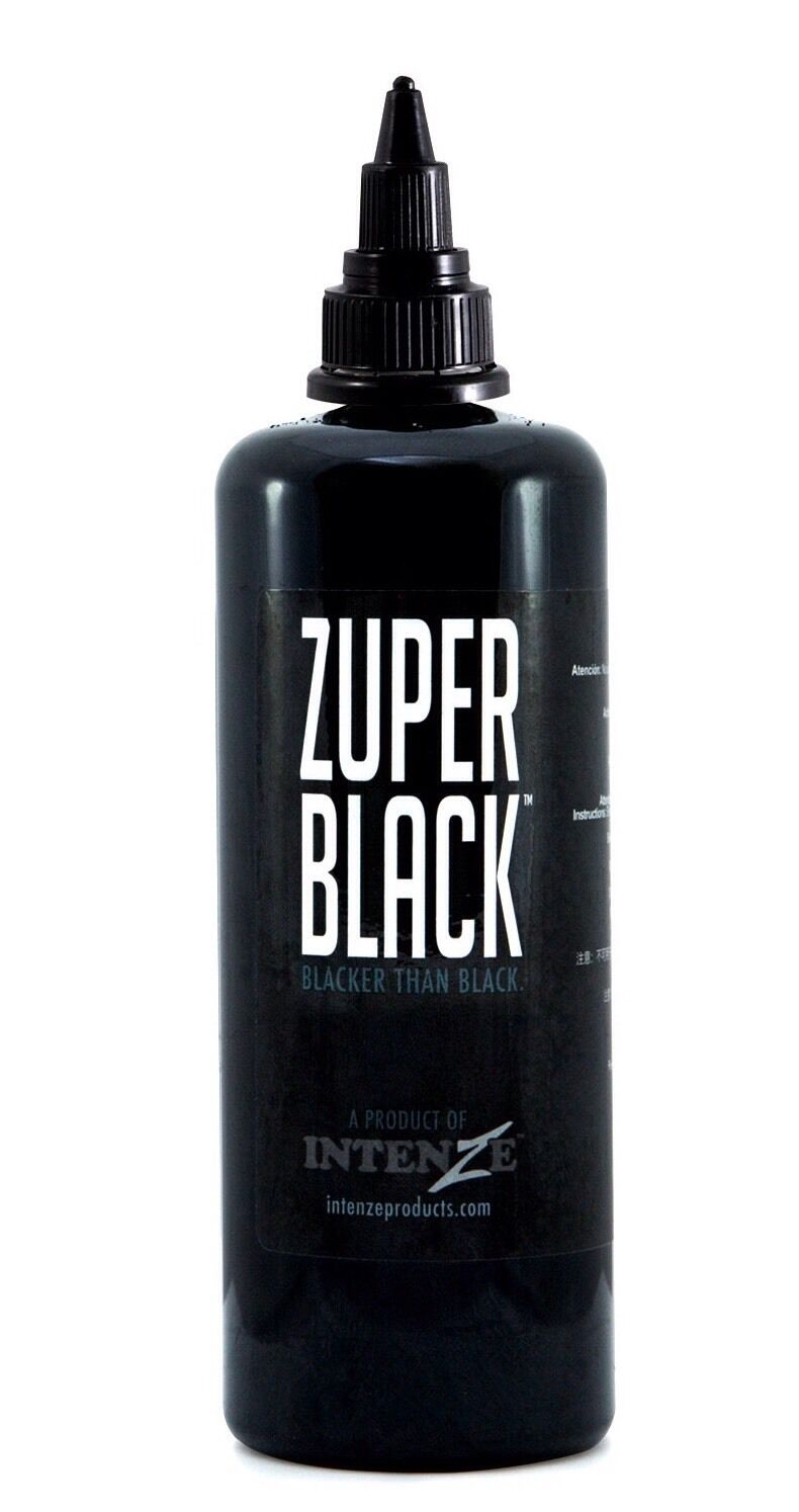 Intenze zuper black tattoo ink 35ml picclick uk for Black tattoo ink