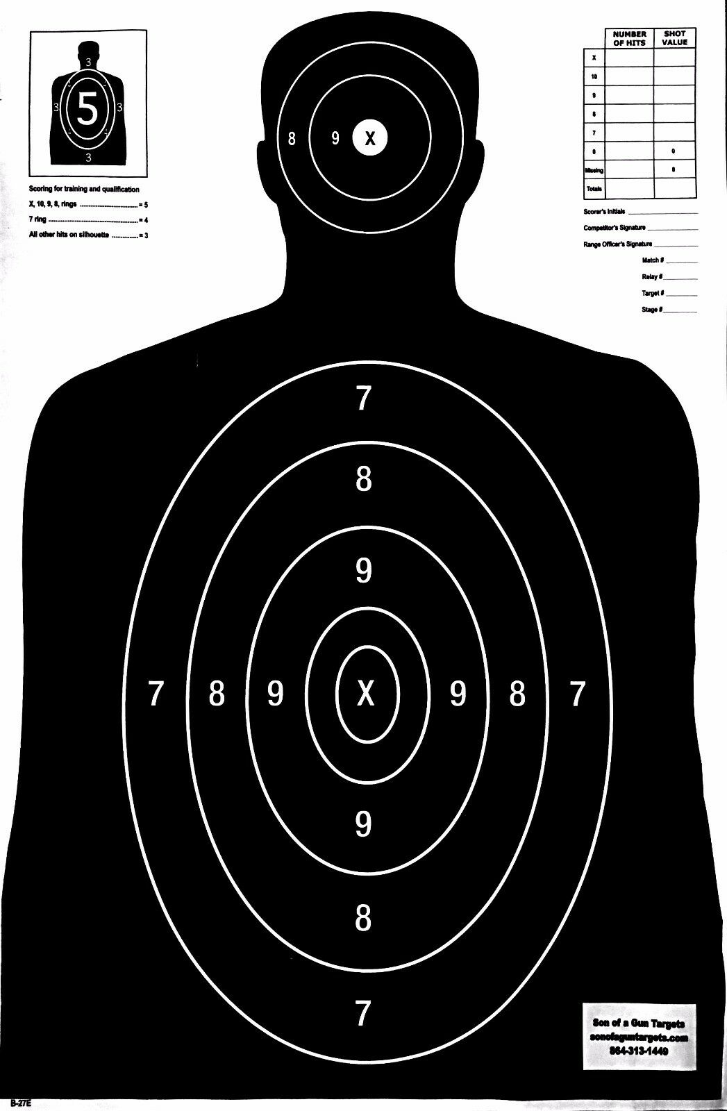 paper silhouette targets for sale New 1/4 thick soda bottles just added new product, excited to offer a cheaper target for those.