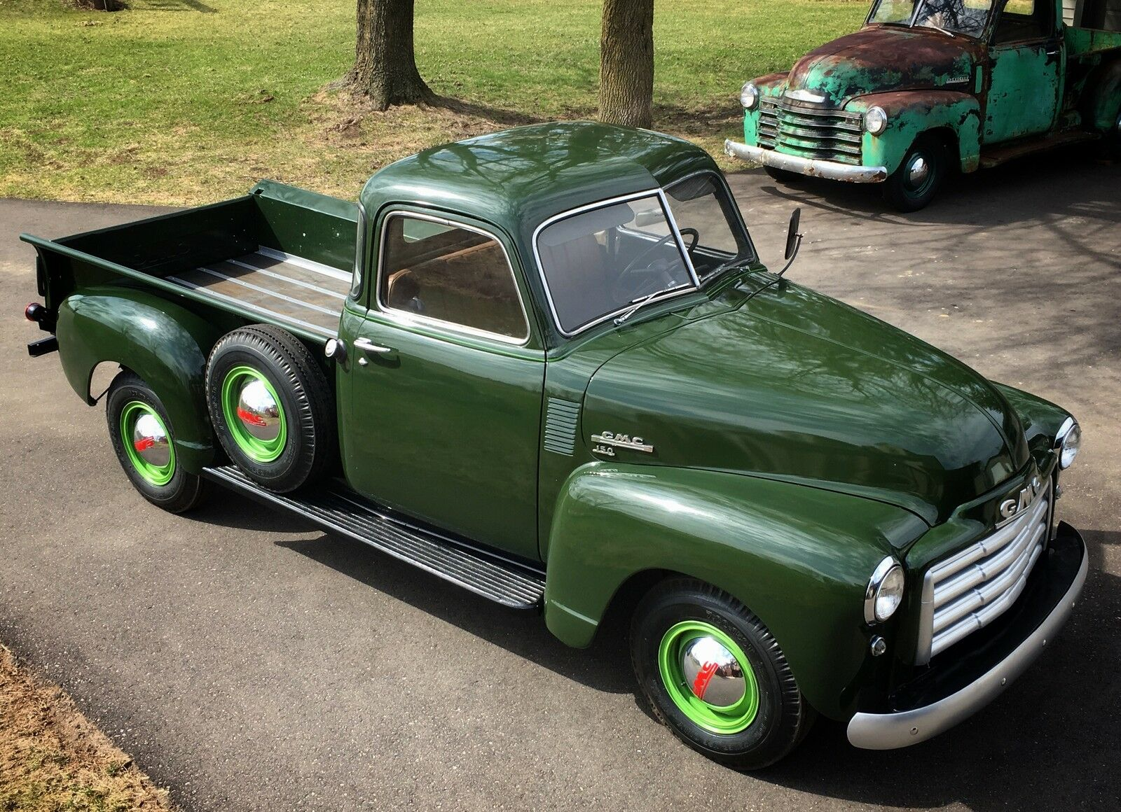 1949 Gmc 150 5 Window Deluxe Cab 1000000 Picclick Chevy Pickup 1 Of 24