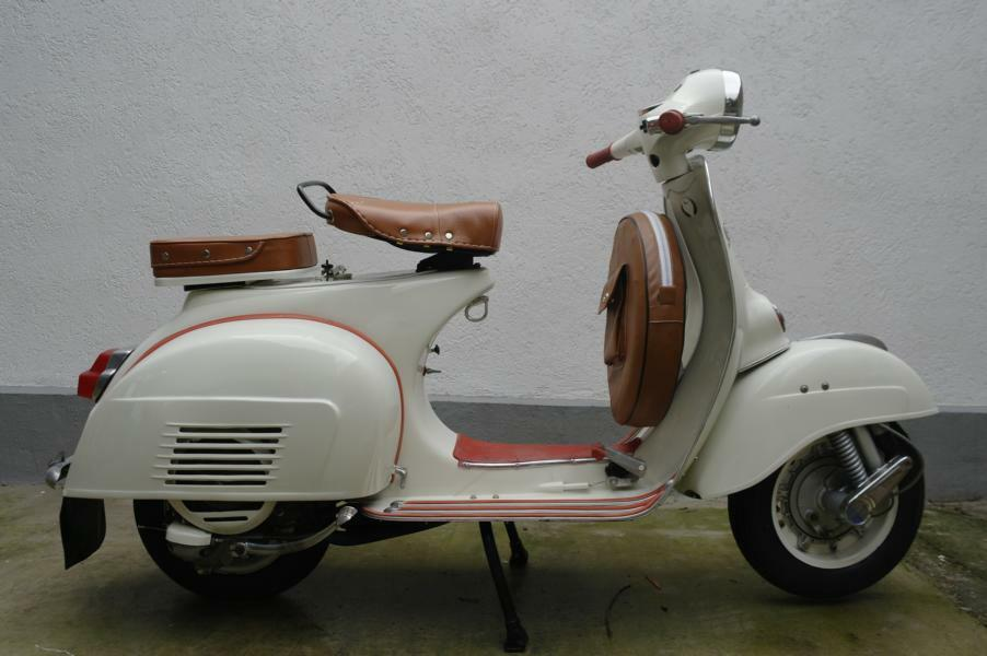 piaggio vespa sprint veloce 150 1972 beige neu. Black Bedroom Furniture Sets. Home Design Ideas