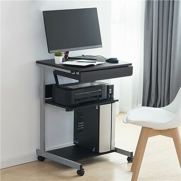 Laptop computer table tray desk compact student bedside table laptop computer table tray desk compact student bedside table furniture black 1 of 10free shipping watchthetrailerfo
