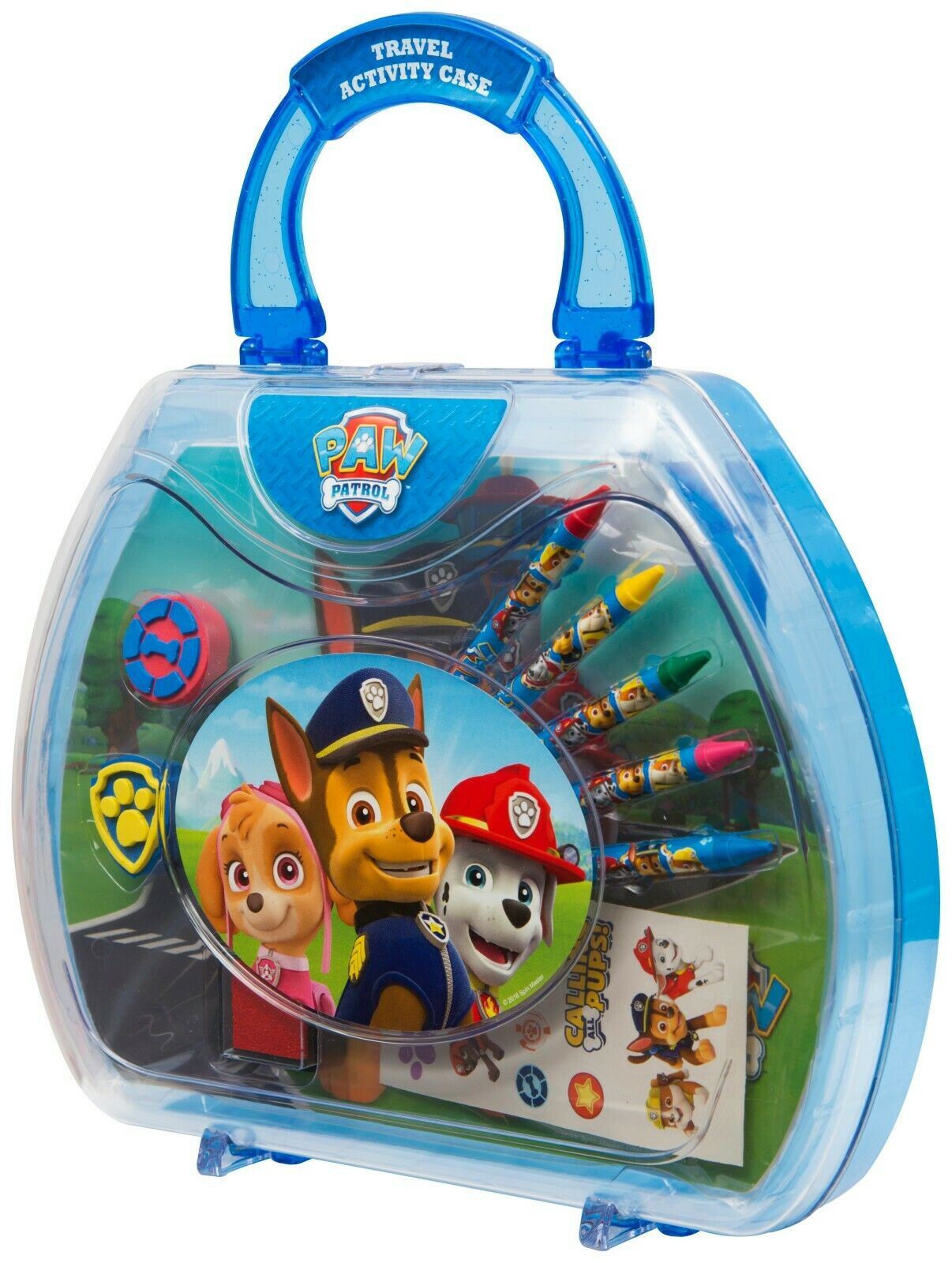 Paw Patrol Travel Carry Along Art Case Painting Toy Set