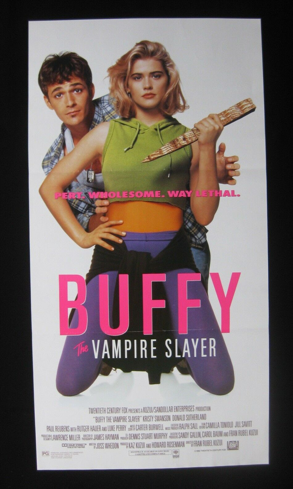 buffy vampire slayer 1992 orig australian daybill movie