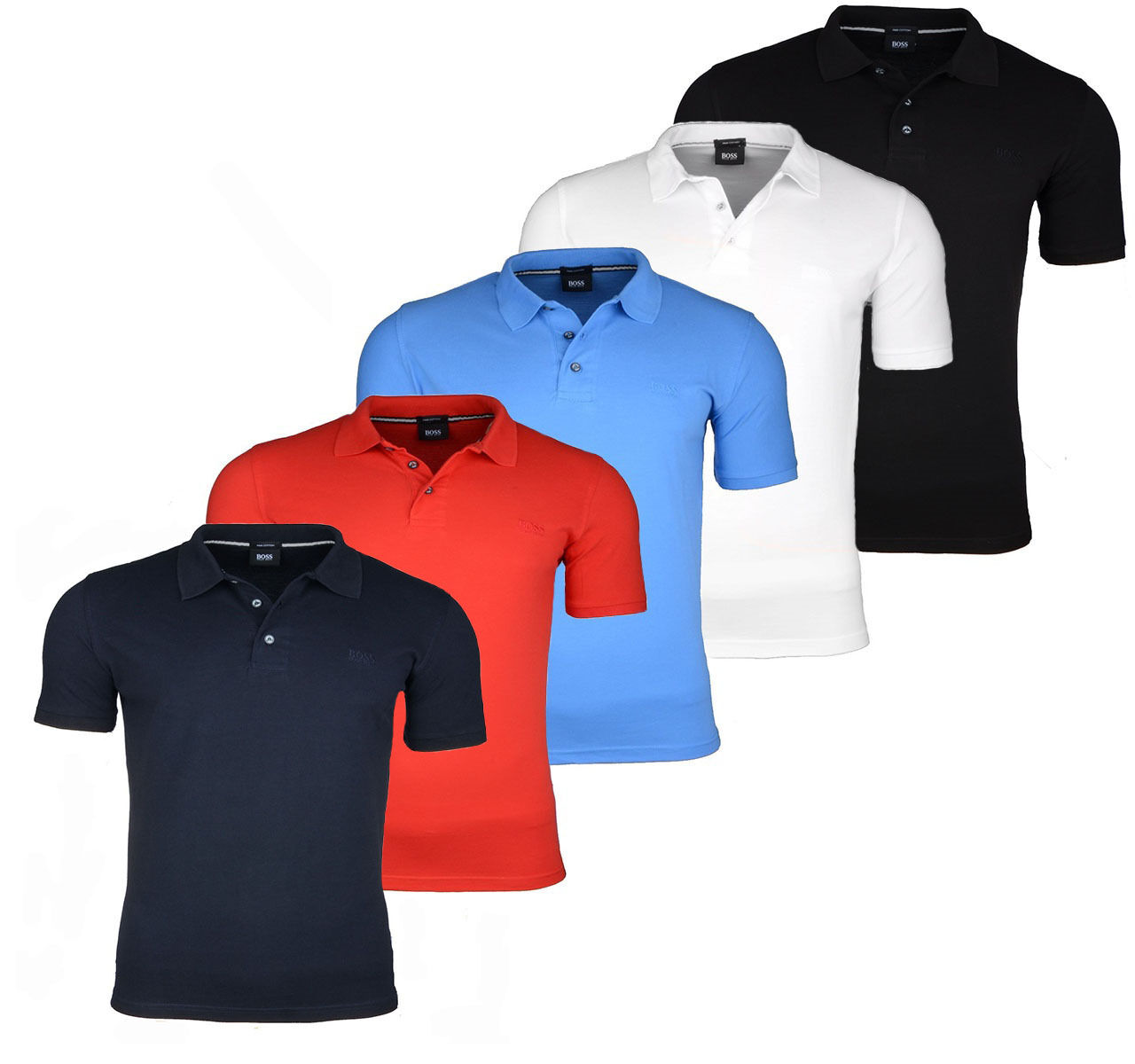 Hugo boss herren polo shirt aus pique baumwolle regular for Hugo boss polo shirts xxl