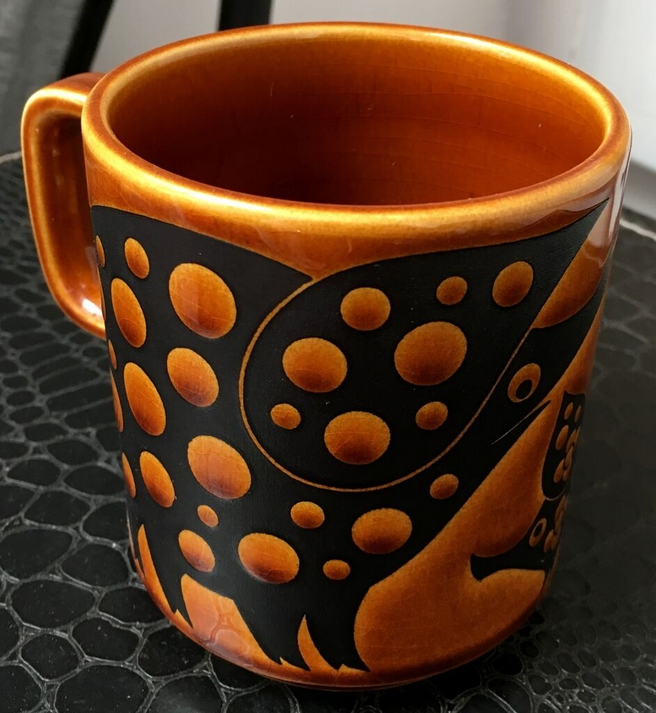 how to clean vintage teak on hornsea pottery