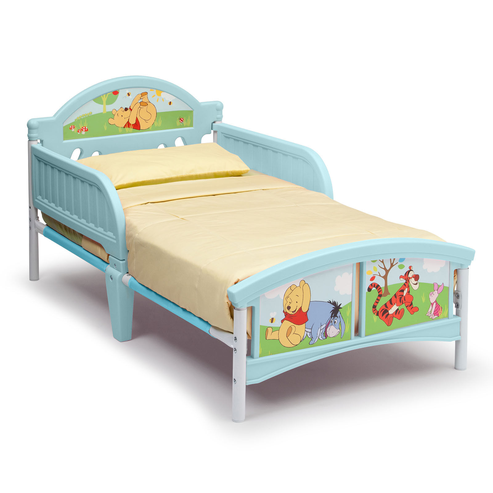 New delta children disney winnie the pooh unisex junior for Starter bed