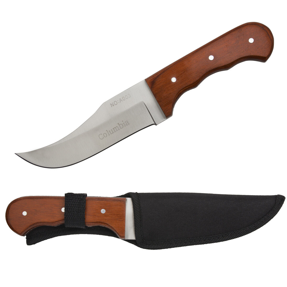 columbia jagdmesser outdoor edelstahl rostfrei bowie messer camping angeln knife eur 6 00. Black Bedroom Furniture Sets. Home Design Ideas